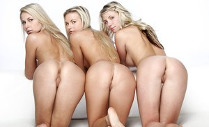 Naked Threesome Ass Pics