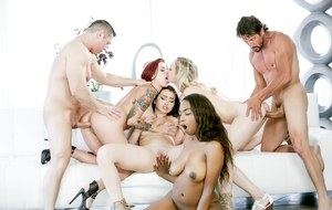 Naked Orgy Ass Pics